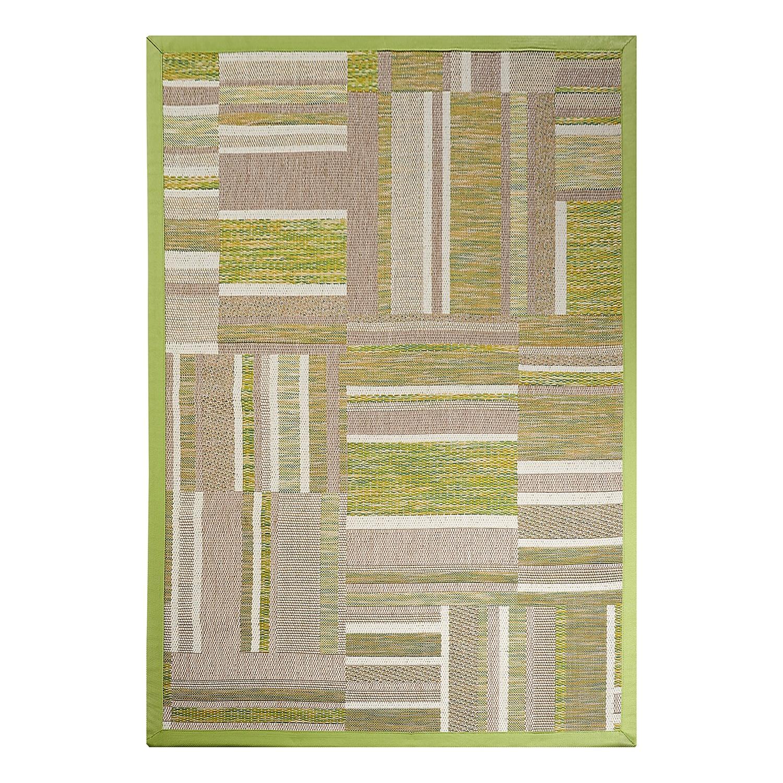 Teppich Naturino Patchwork - Grün - 133 x 190 cm Dekowe