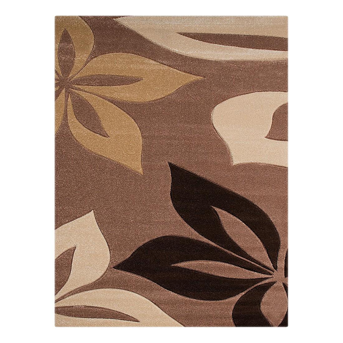 Teppich Nea Blumen – Beige – 160 x 230 cm, Testil bestellen