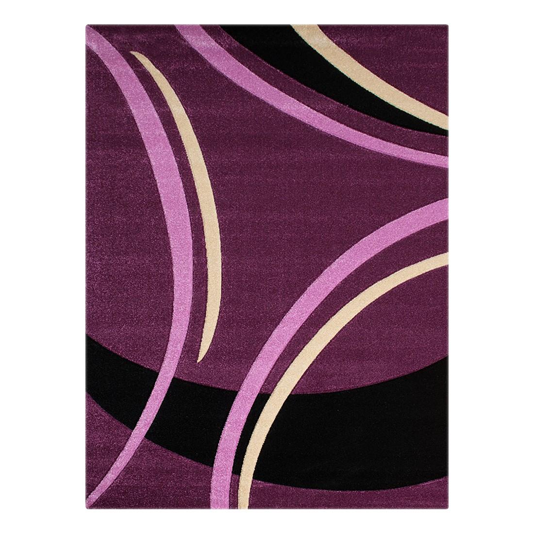 Teppich Nea Linien I – Lila – 120 x 170 cm, Testil kaufen
