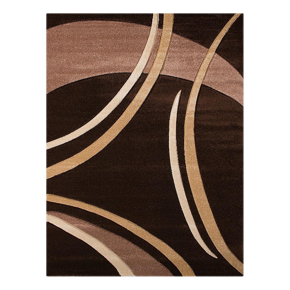 Teppich Nea Linien I – Schoko – 120 x 170 cm, Testil günstig kaufen