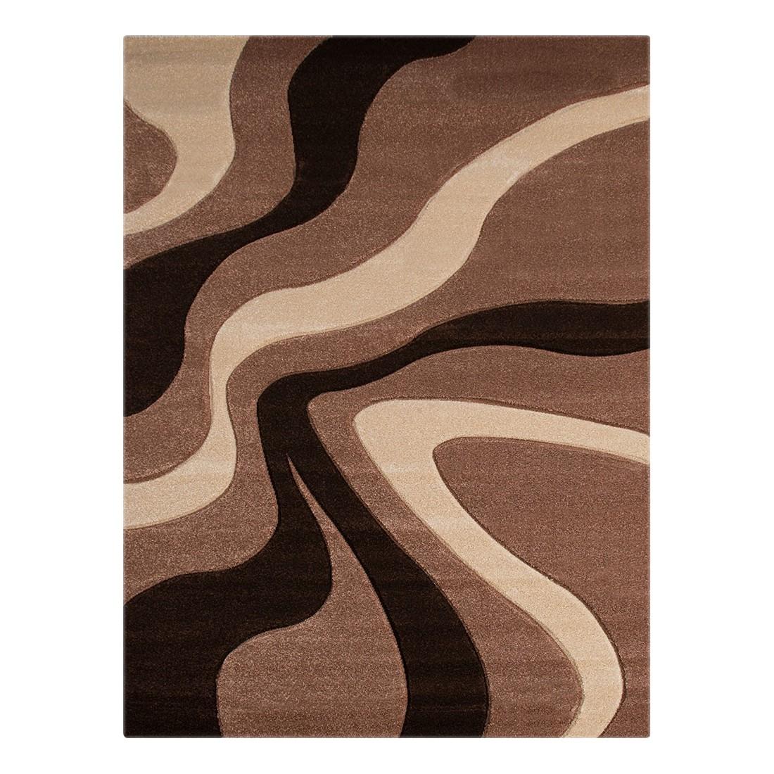 Teppich Nea Linien II – Beige – 133 x 190 cm, Testil günstig