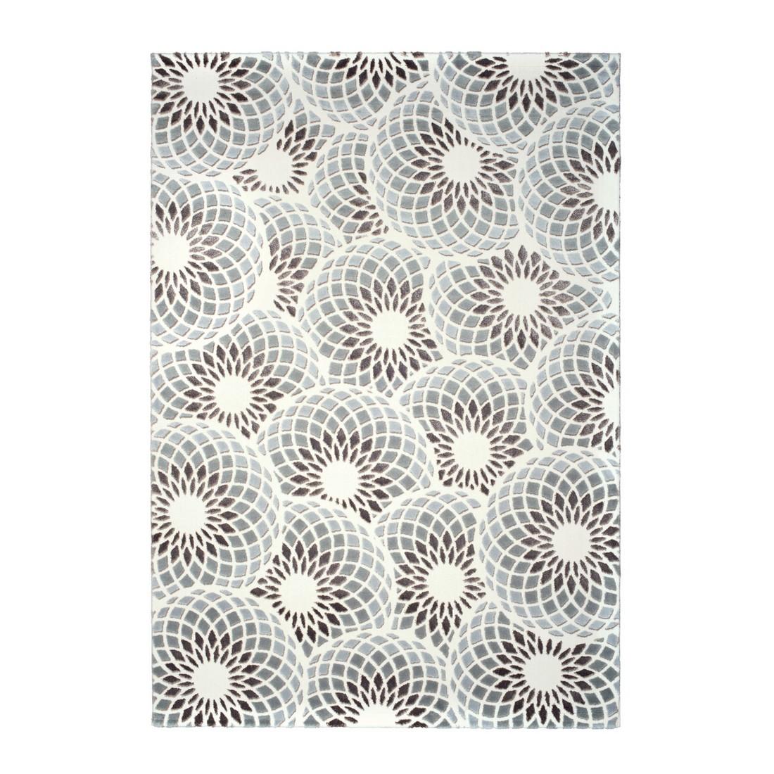 Nano Teppich Nergis Köpük – Grau – Maße: 80 x 300 cm, Kayoom günstig kaufen
