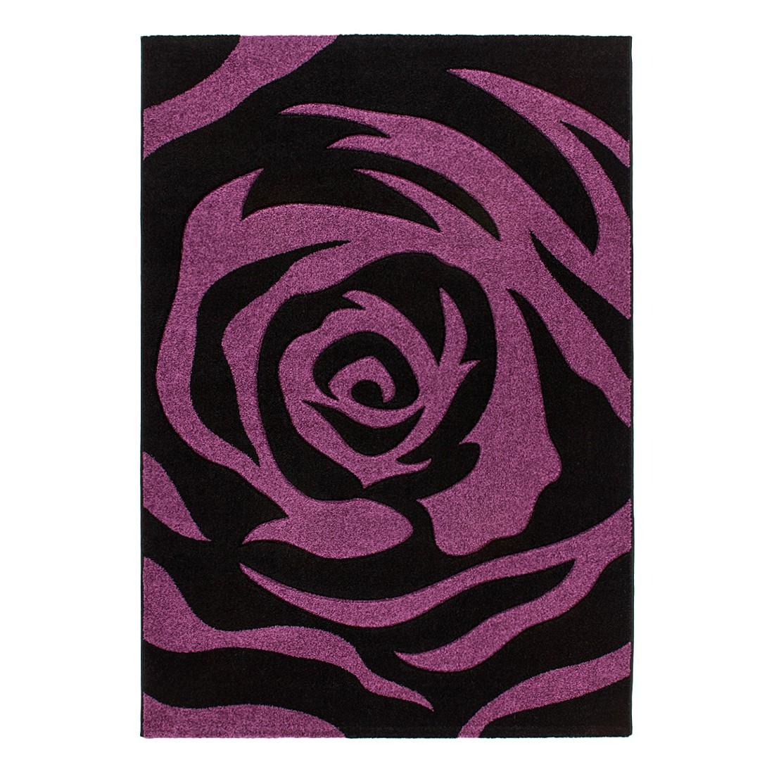 Teppich Netherlands – Tilburg – Violett/Schwarz – 120 x 170 cm, Kayoom bestellen