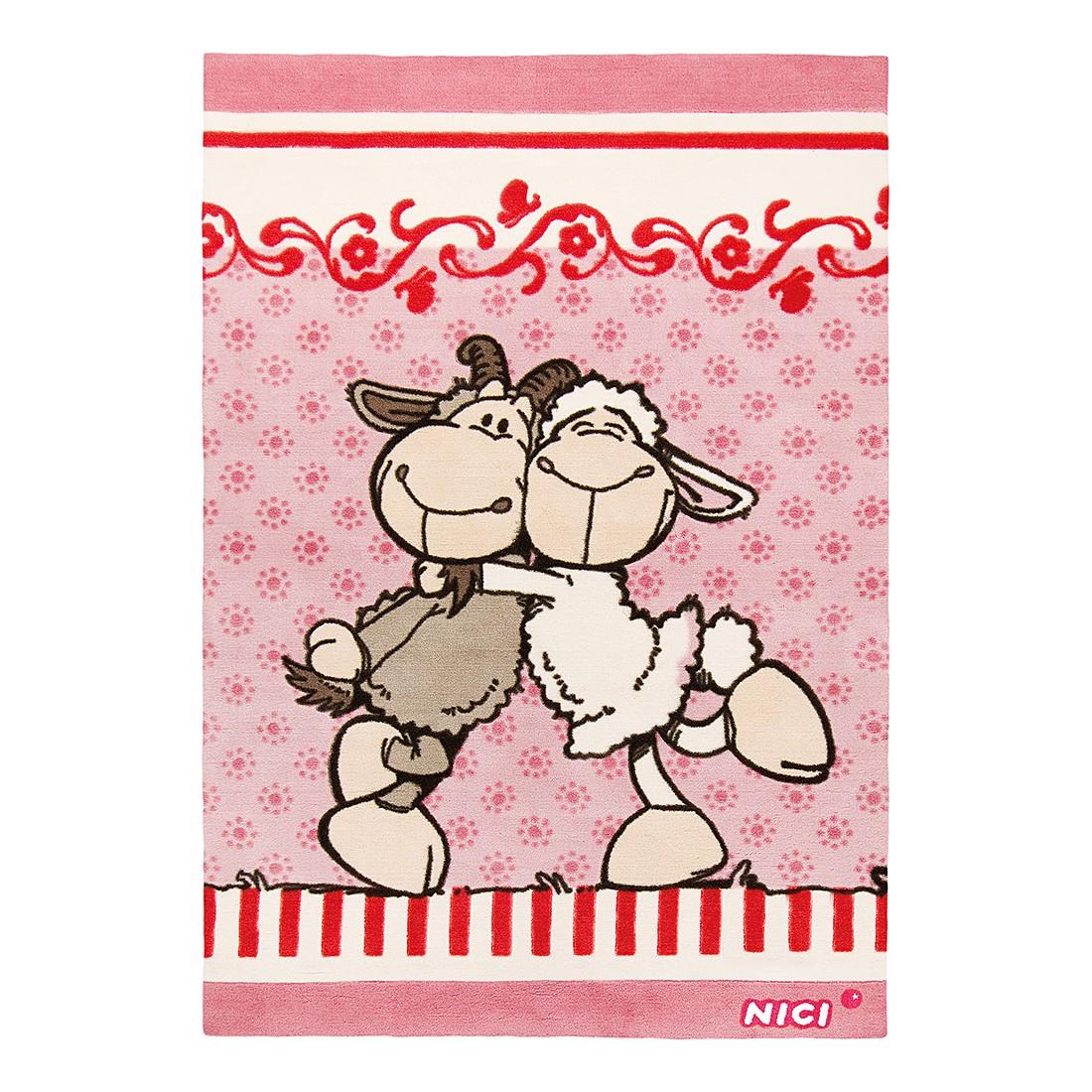 Teppich Jolly Elsa & Gustav I – Rosa, Nici online kaufen