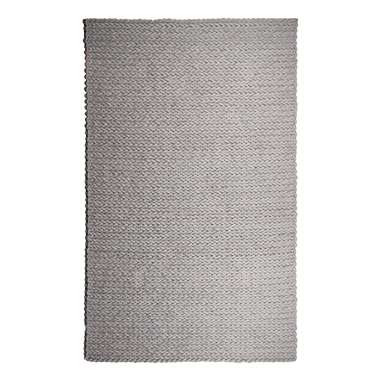 Teppich Nienke - Hellgrau - 200 x 300 cm, Zuiver