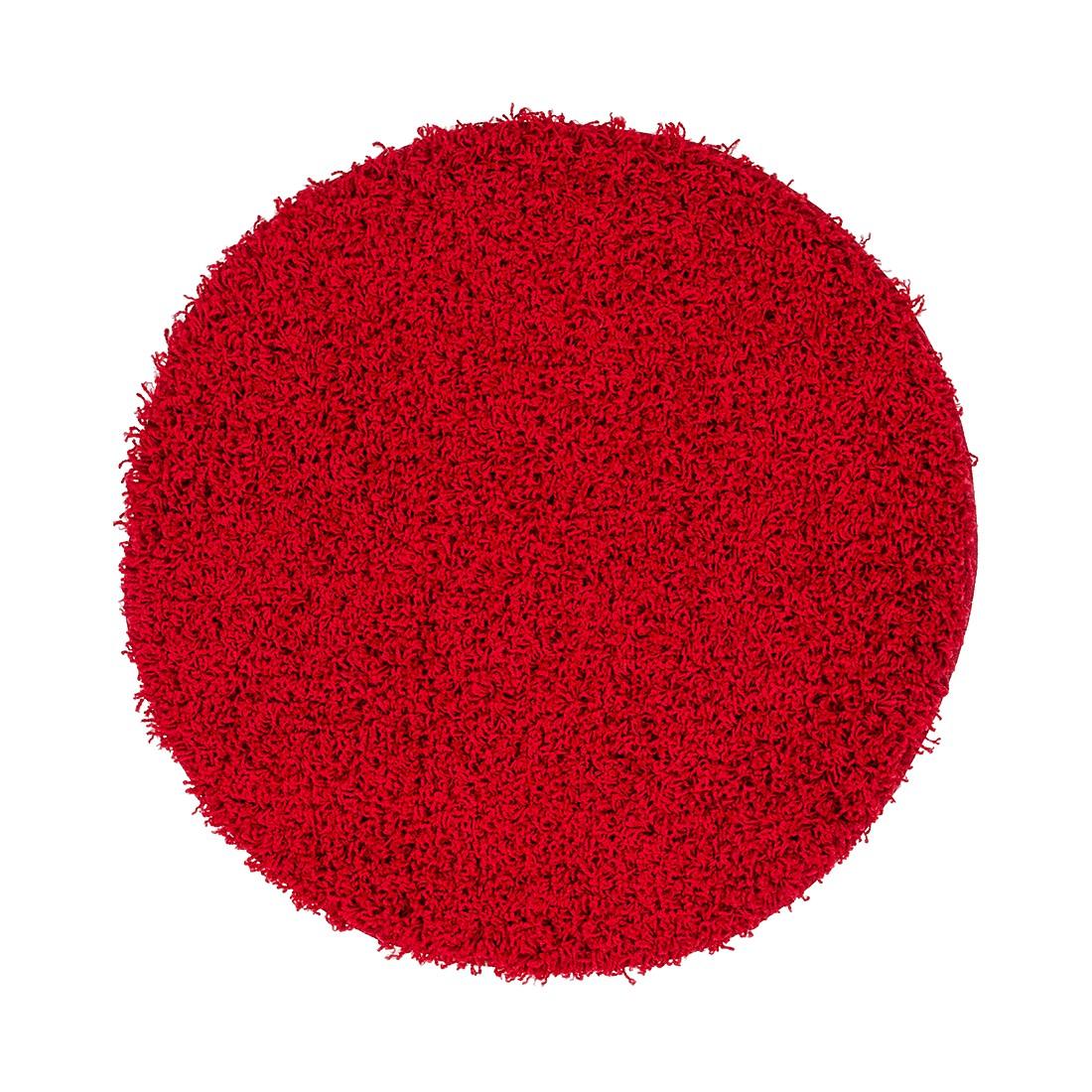 Teppich Oslo II – Rot – Durchmesser: 160 cm, Kayoom online bestellen