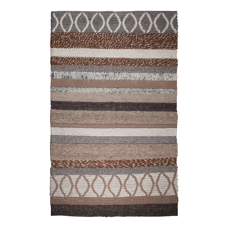 Teppich Norway - Wolle - Beige - 200 x 300 cm, Zuiver