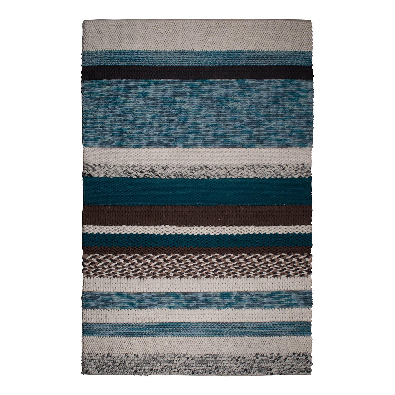 Teppich Norway - Wolle - Blau - 200 x 300 cm, Zuiver