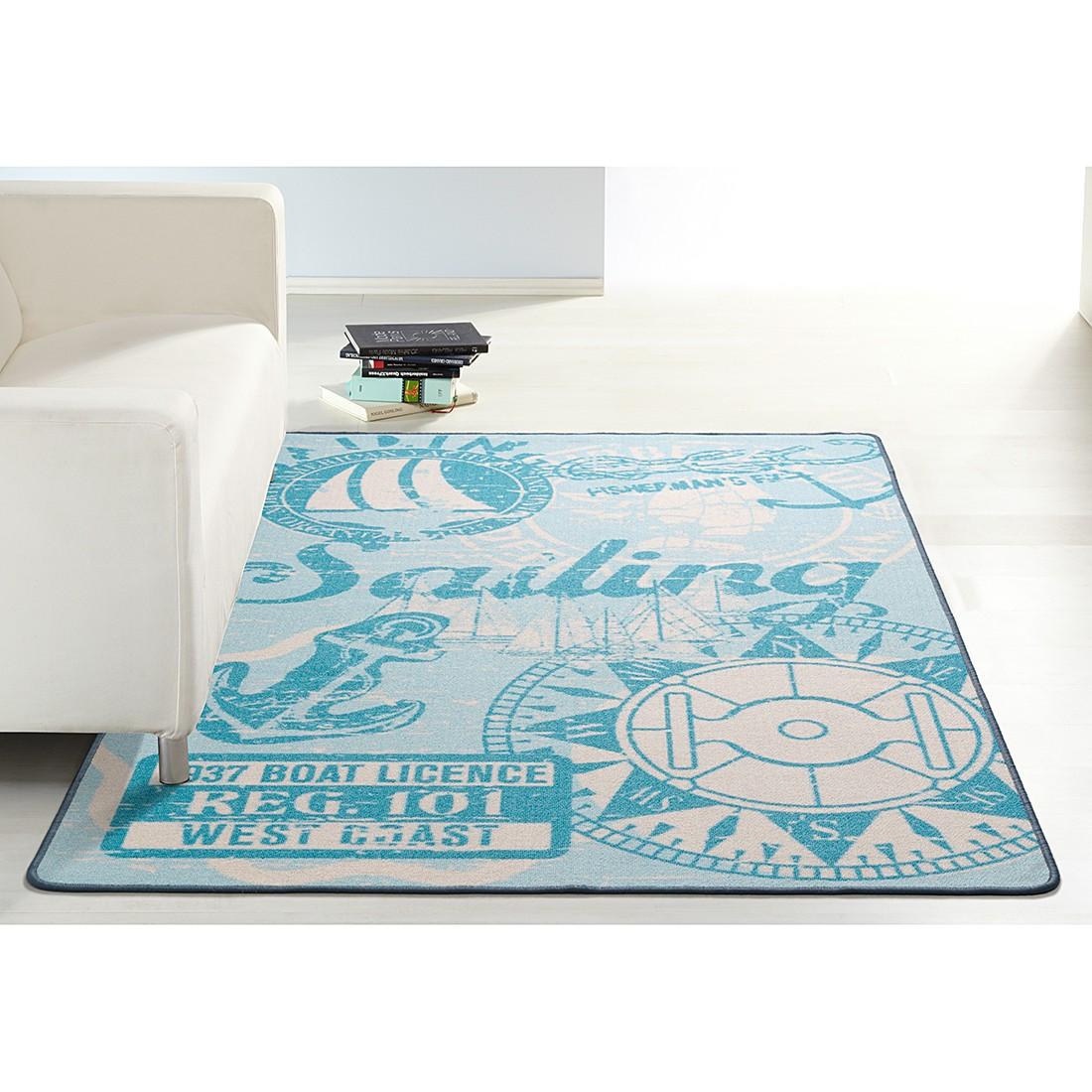 Teppich Novum – Blau – 133 x 190 cm, Hanse Home Collection online kaufen