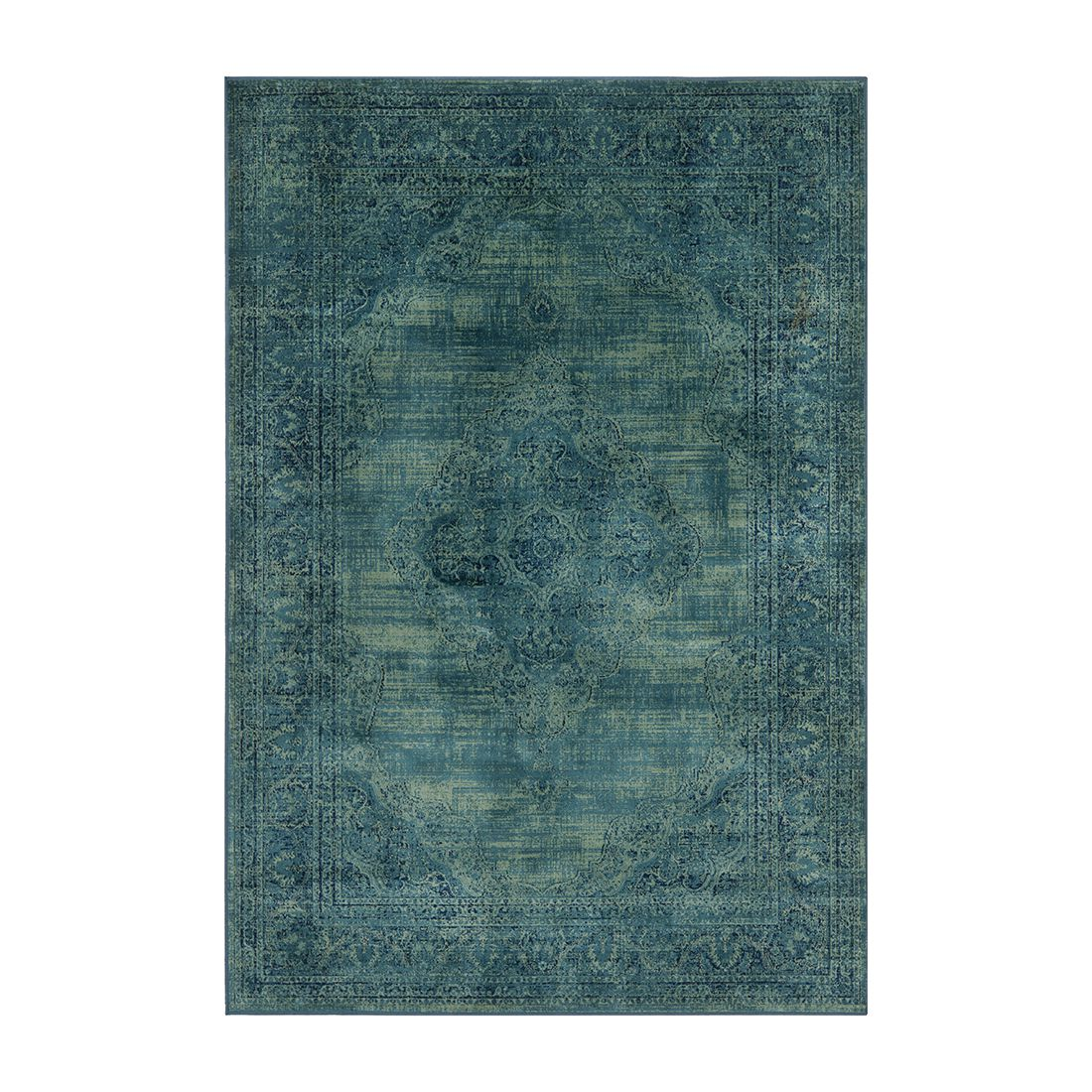 Teppich Olivia – Vintagelook Türkis – 201 x 290 cm, Safavieh günstig kaufen