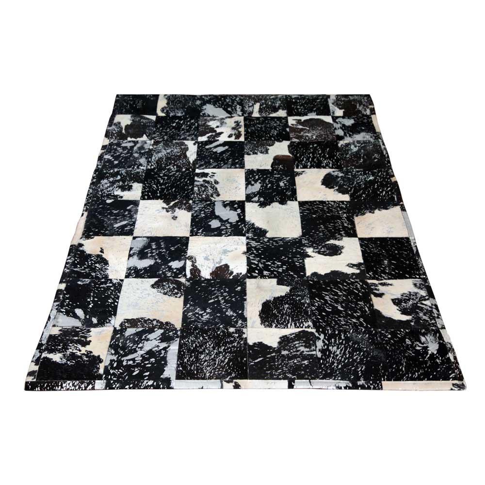 kuhfell teppich schwarz weiss preisvergleiche. Black Bedroom Furniture Sets. Home Design Ideas