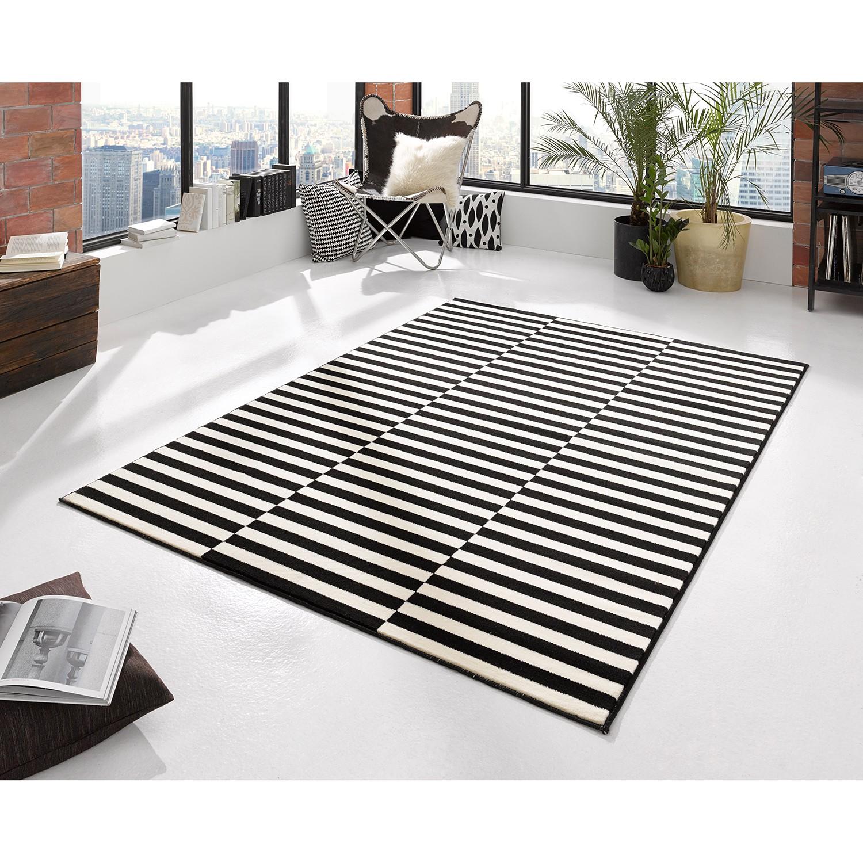 Teppich Panel Schwarz Creme WOHNZIMMER TEPPICHE  eBay