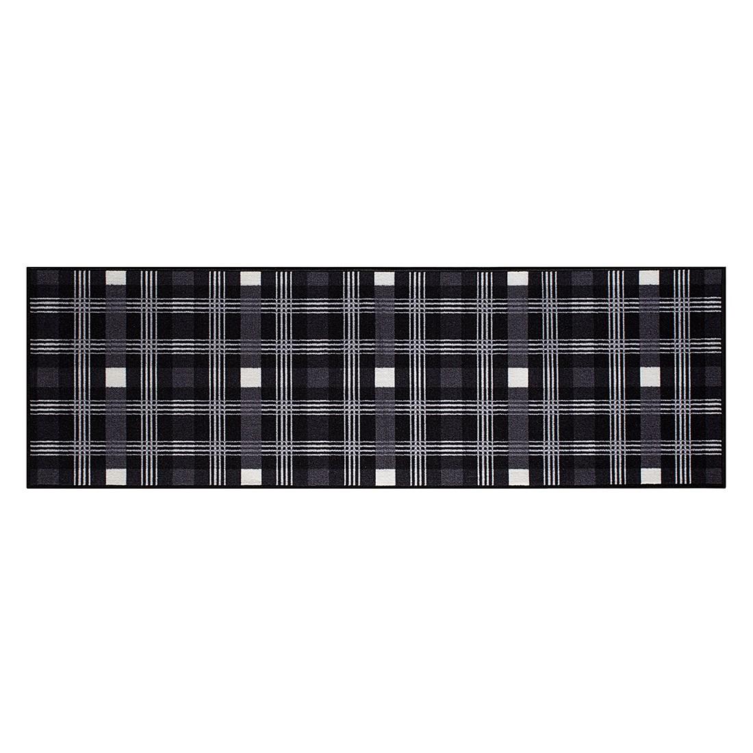 Teppich Parkland I – Schwarz / Weiß – 57 x 180 cm, andiamo online bestellen