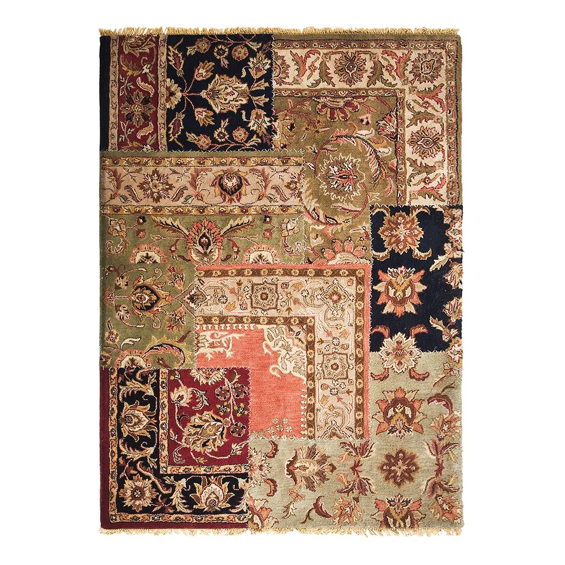 Teppich Persian Patchwork - Wolle Mehrfarbig - 300 cm x 200 cm Kare Design