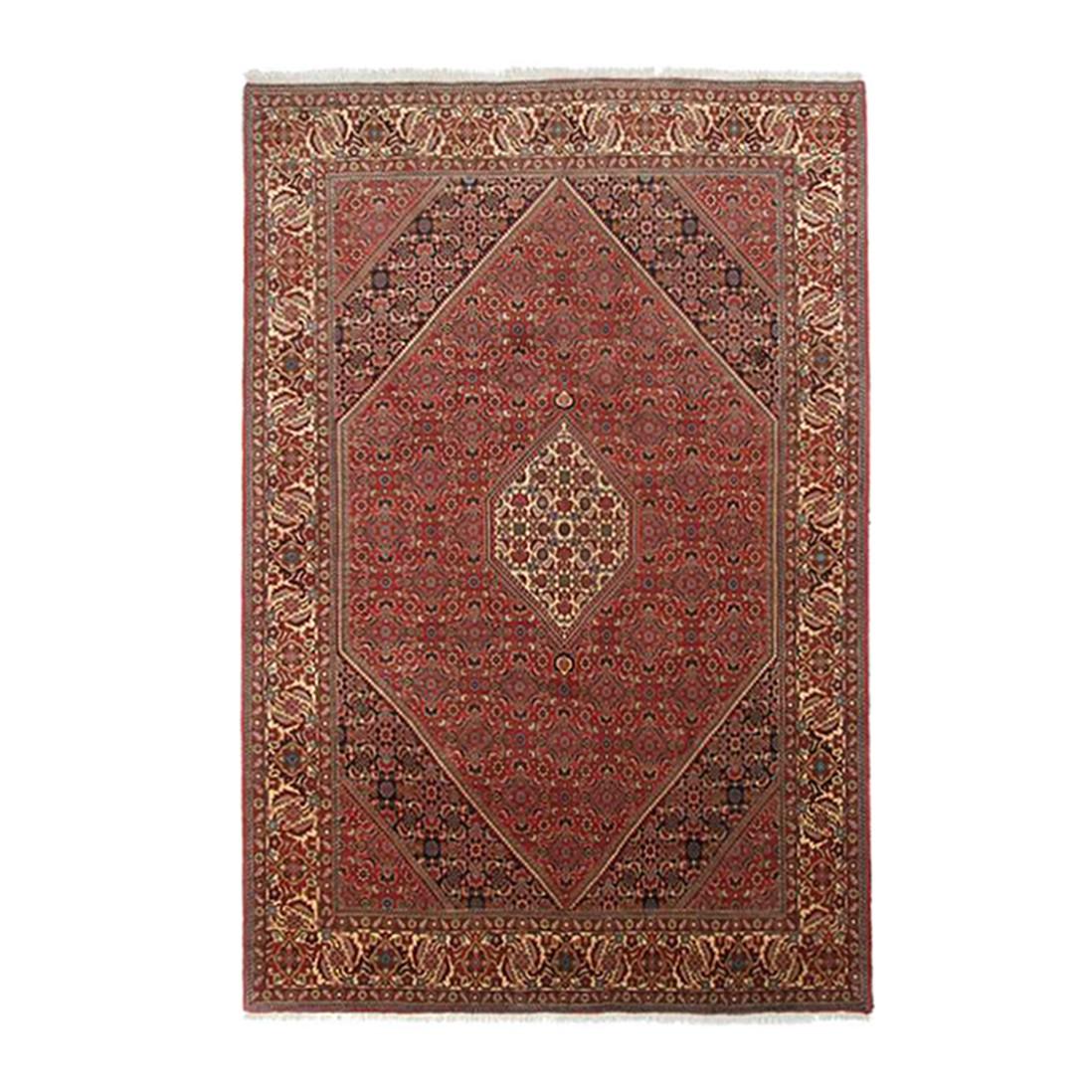 Teppich Persischer Sandjan Bidjar – Rot – 40 x 60 cm, Parwis günstig online kaufen