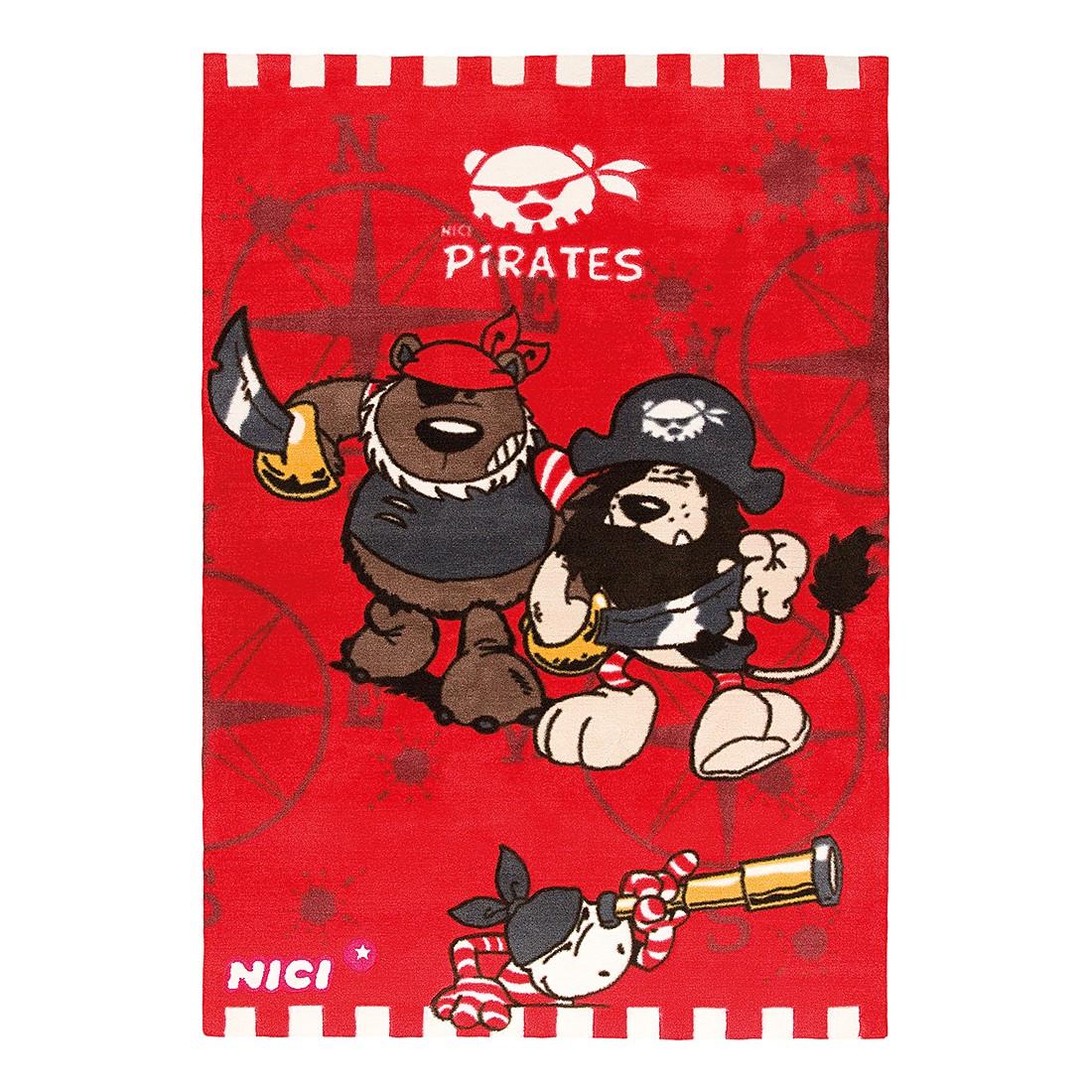 Teppich Pirates - Rot, Nici