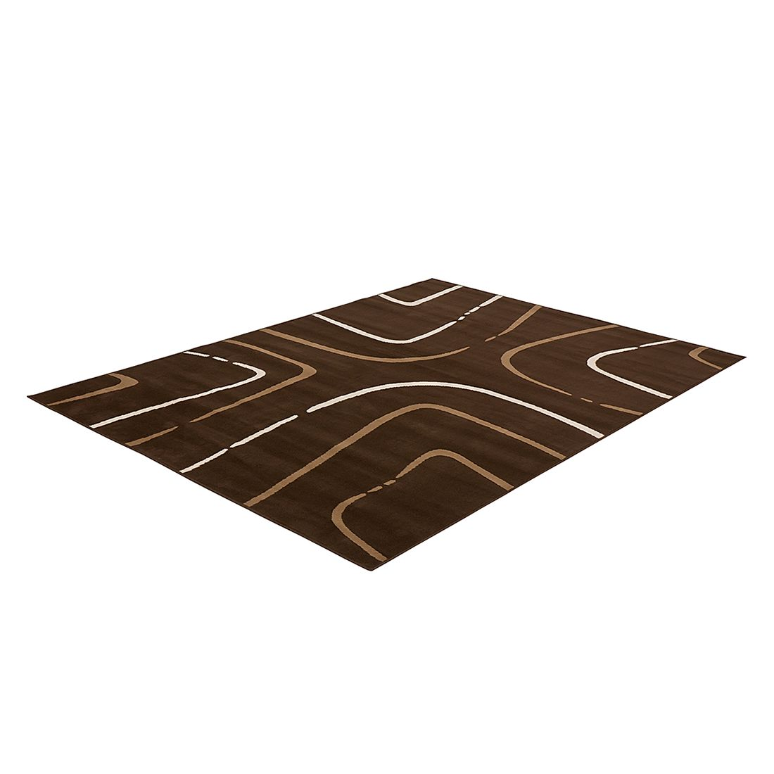 Teppich Prime Pile Abstract – Braun – 70 x 140 cm, Hanse Home Collection kaufen