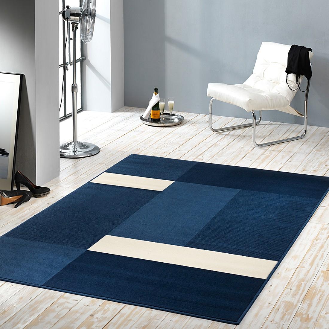 teppich prime pile blau 70 cm x 140 cm hanse home collection g nstig bestellen. Black Bedroom Furniture Sets. Home Design Ideas