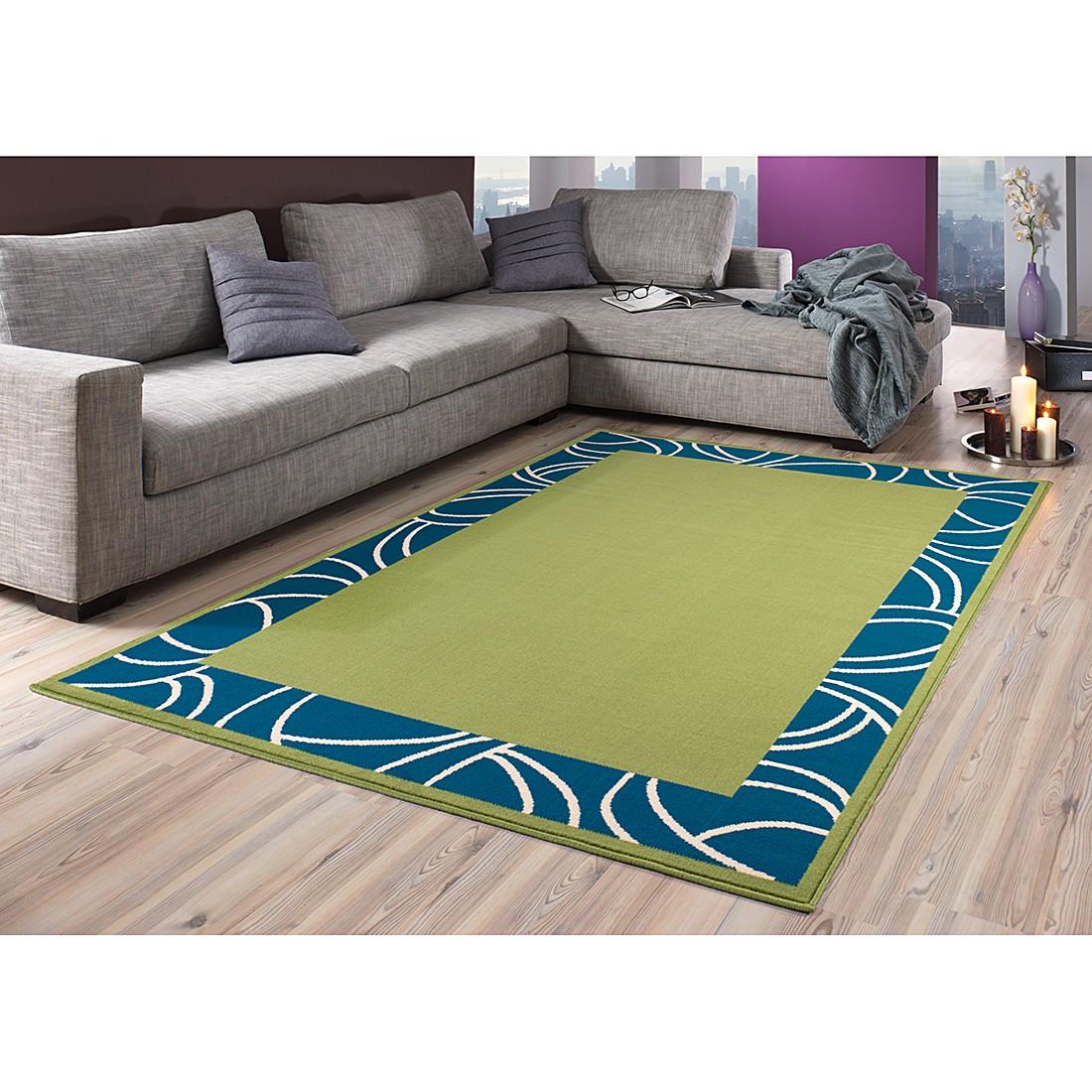 teppich prime pile gr n 70 cm x 140 cm hanse home collection g nstig bestellen. Black Bedroom Furniture Sets. Home Design Ideas
