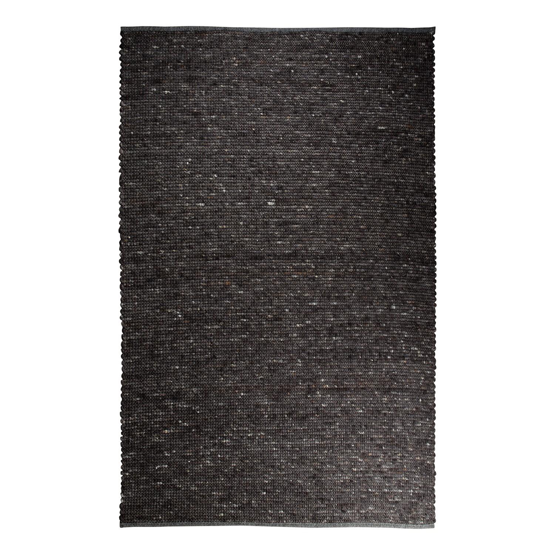 Teppich Pure - Naturfaser - Dunkelgrau - 200 x 300 cm, Zuiver