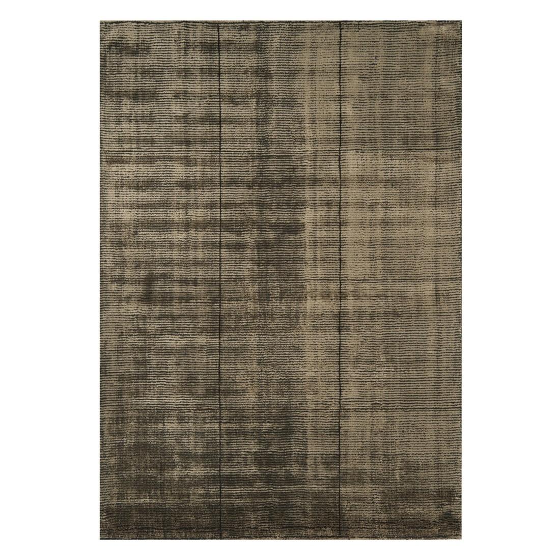 Teppich Pure – Viskose/ Wolle – Braun – 160×230 cm, benuta jetzt kaufen