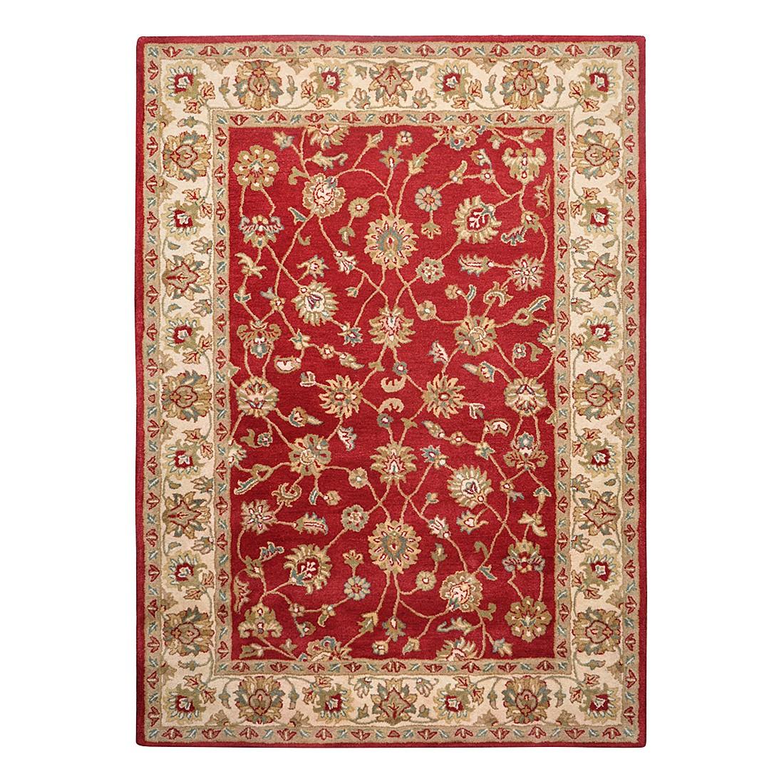 Teppich Royal Ziegler – Wolle/Rot – 70 cm x 140 cm, THEKO die markenteppiche kaufen