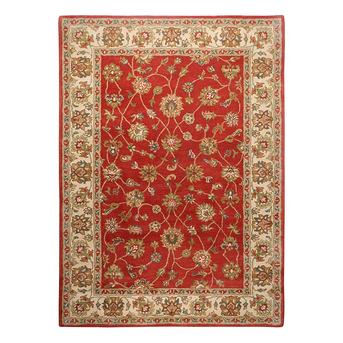 Teppich Royal Ziegler – Wolle/Terrakotta – 90 cm x 160 cm, THEKO die markenteppiche bestellen