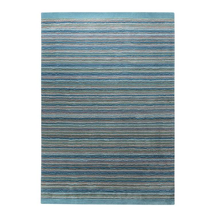 Teppich Samba Stripes – Petrol – Maße: 90 x 160 cm, Esprit Home jetzt bestellen