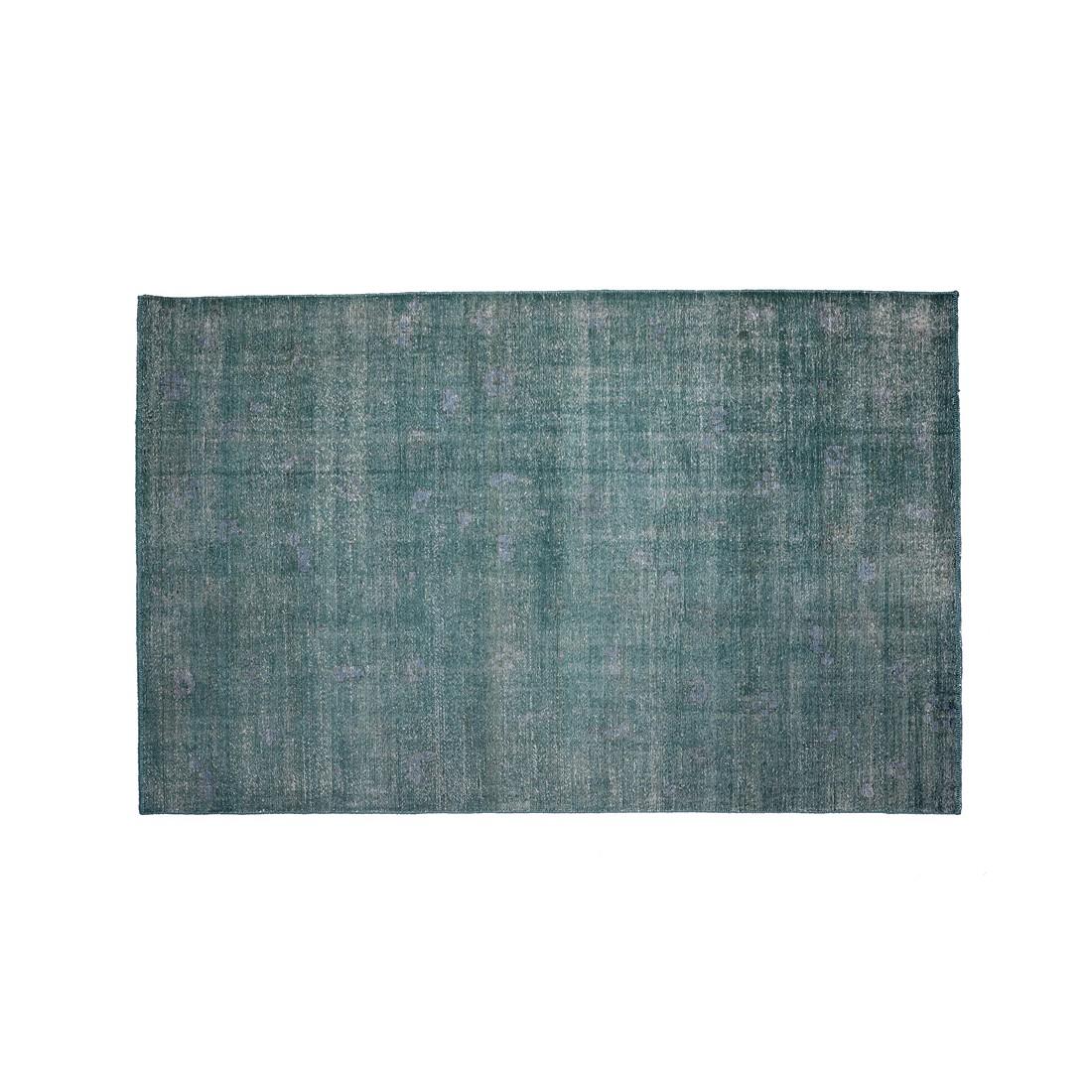 Teppich Sari - Wolle - Grün - 300 x 200, ikarus