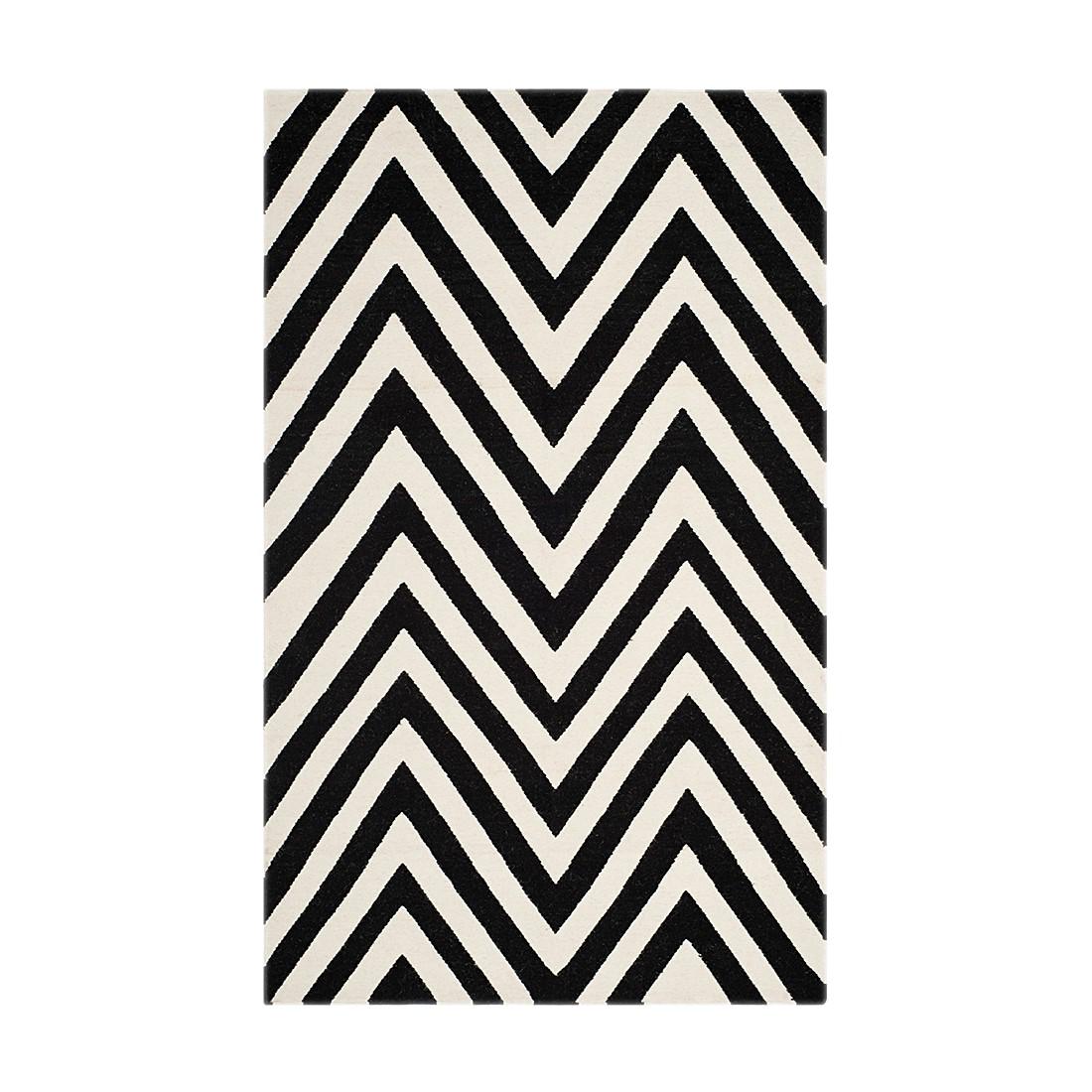 Teppich Serena – Schwarz/Creme – 183 x 275 cm, Safavieh günstig