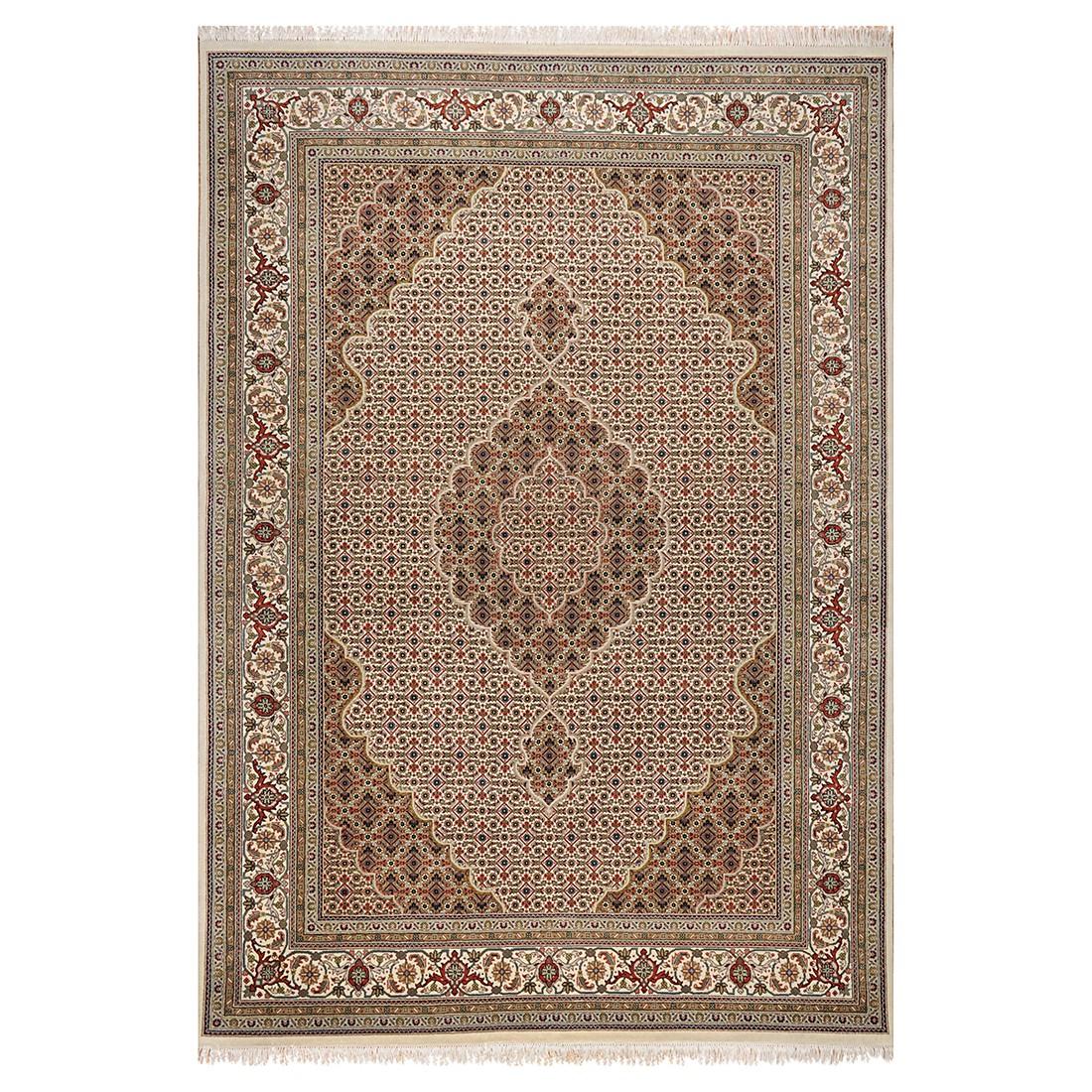 Teppich Sirsa Mahi Silk touch – Seide/Creme – 200 cm x 300 cm, THEKO die markenteppiche kaufen
