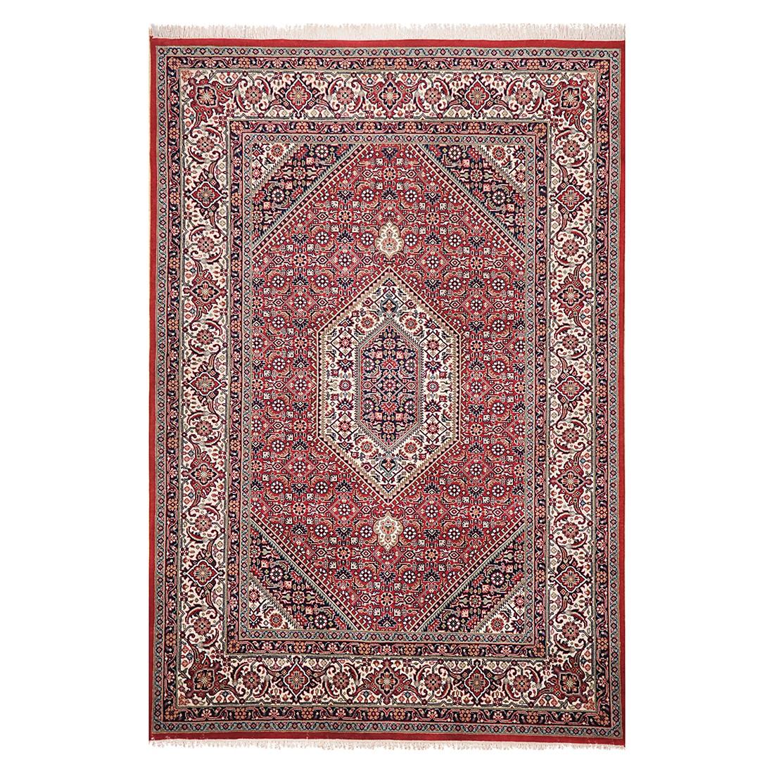 Teppich Sirsa Seta Bidjar - Seide/Rot - 250 cm x 350 cm, Theko die markenteppiche