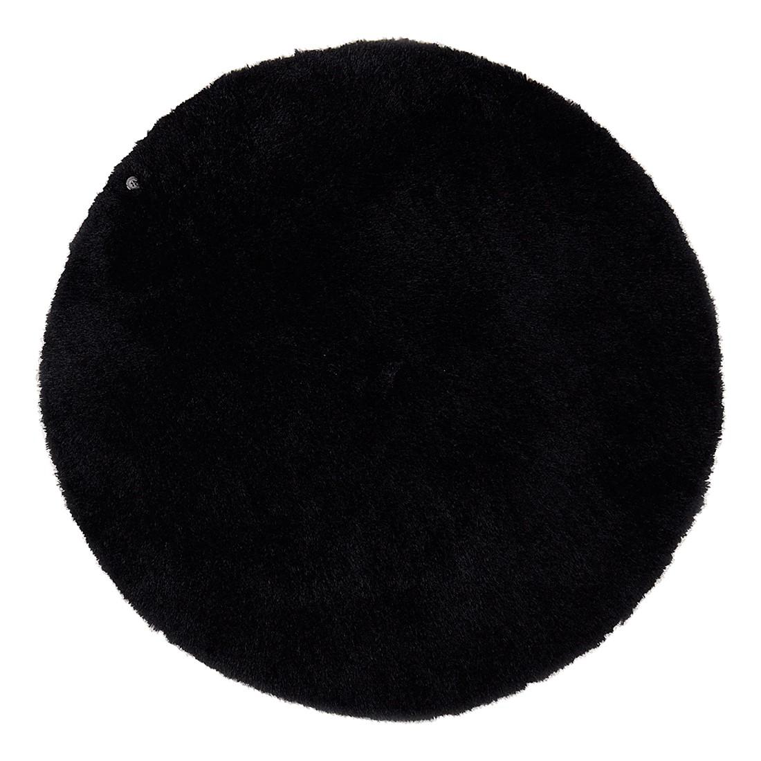 Teppich Soft Round – Schwarz – Maße: 140 x 140 cm, Tom Tailor günstig kaufen