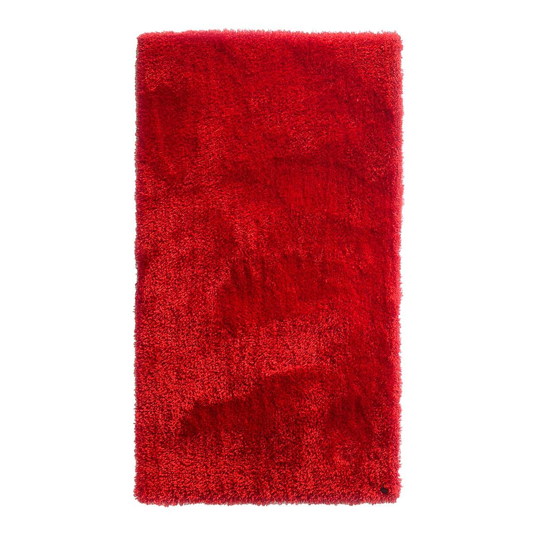 Teppich Soft Square – Rot – Maße: 140 x 200 cm, Tom Tailor jetzt bestellen