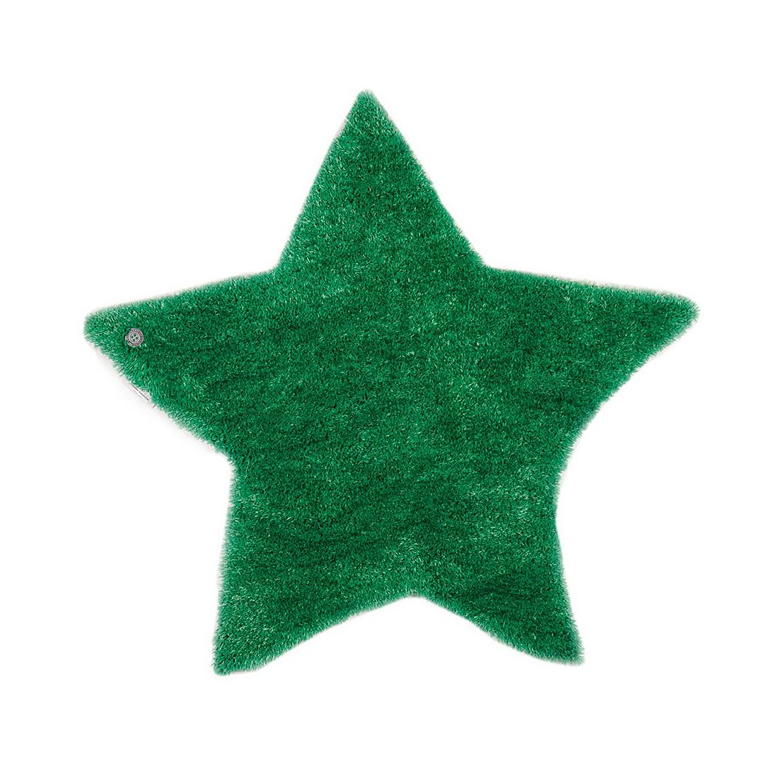 Teppich Soft Star – Grün – Maße: 100 x 100 cm, Tom Tailor günstig kaufen