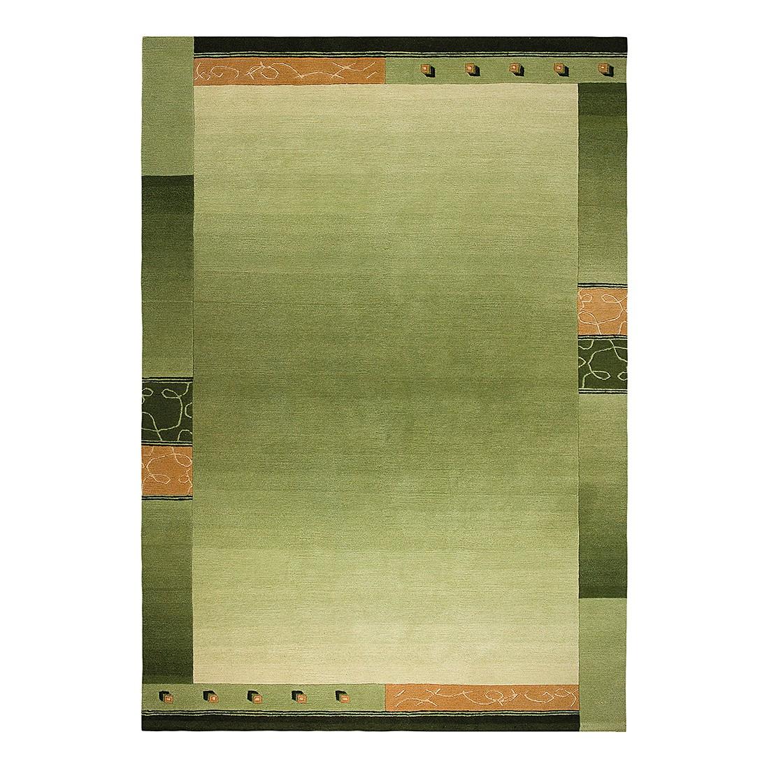 Teppich Super Q – Wolle/ Hellgrün – 140 cm x 200 cm, Luxor living günstig kaufen