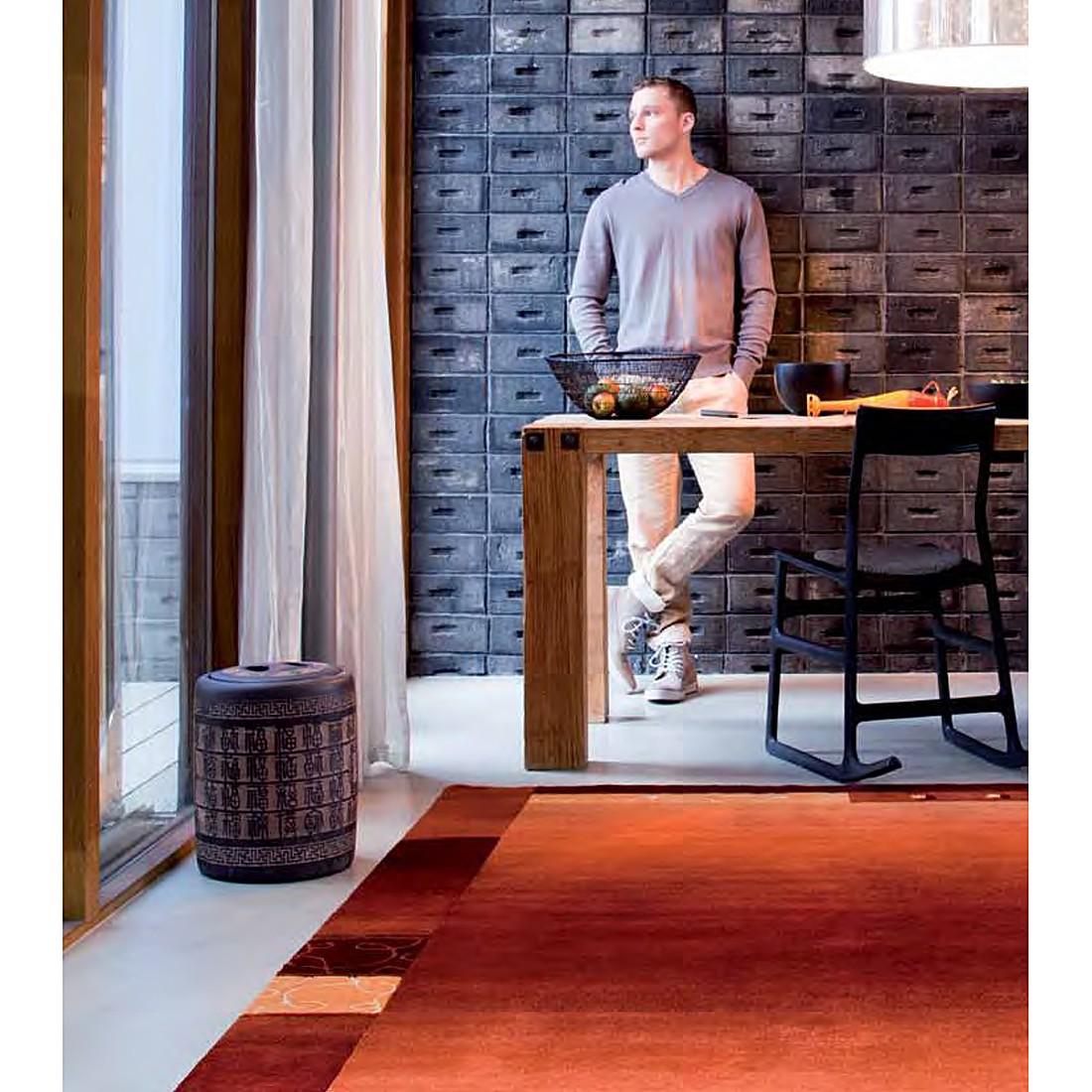 Teppich Super Q – Wolle/ Rot – 170 cm x 240 cm, Luxor living jetzt bestellen