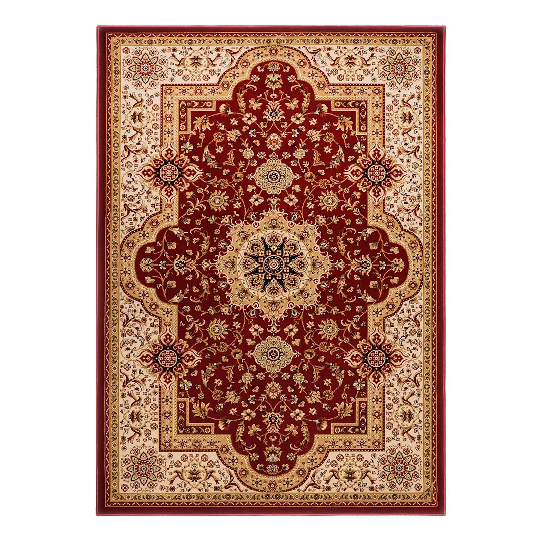 Teppich Tashkent - Rot / Beige - 80 x 140 cm, Theko die markenteppiche