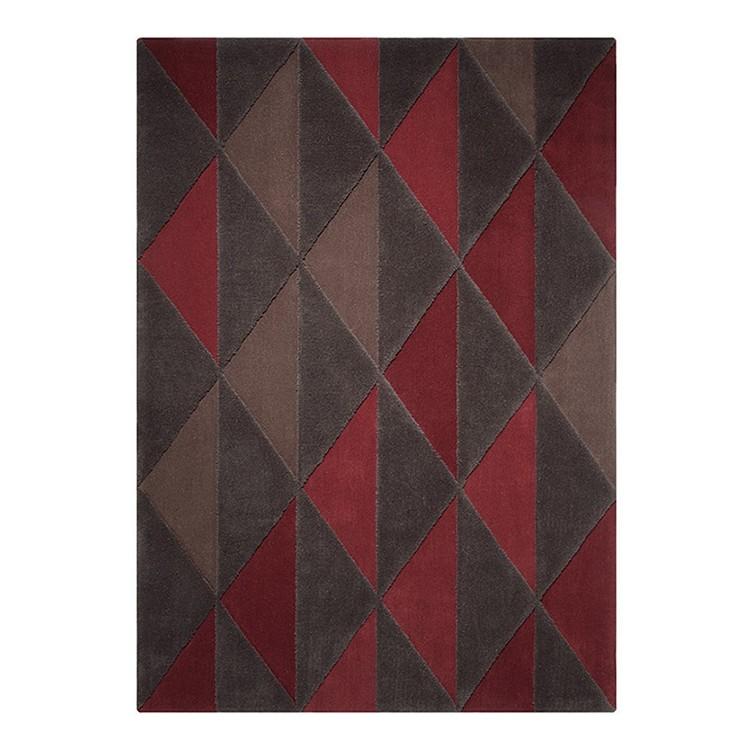 teppich triangle bordeaux ma e 200 x 200 cm esprit home g nstig bestellen. Black Bedroom Furniture Sets. Home Design Ideas