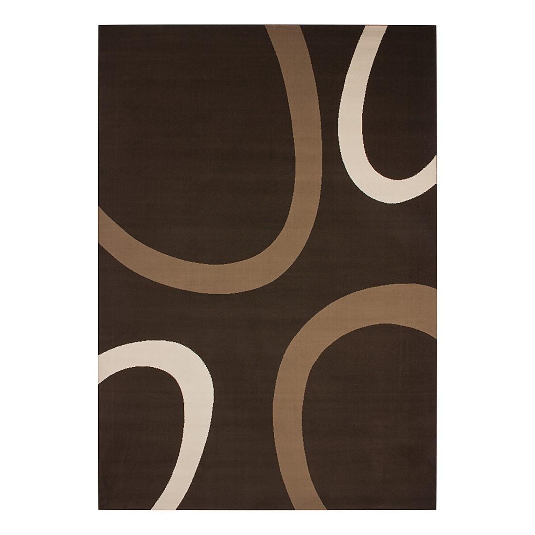 Teppich Dallas – Braun – 190 x 280 cm, Kayoom günstig kaufen