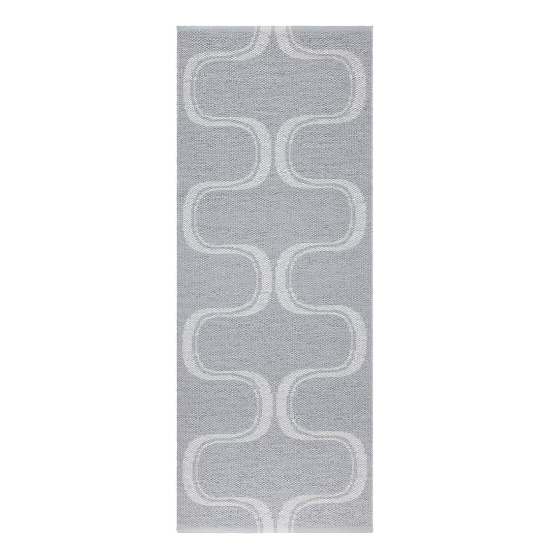 In-/Outdoorteppich Waves I – Kunstfaser Beige/Cremeweiß – 60 x 110 cm, Swedy bestellen