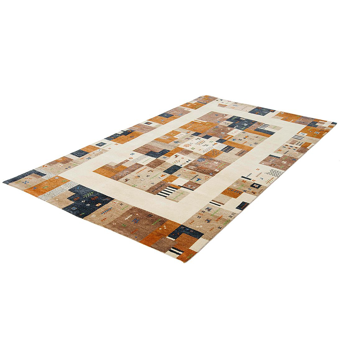 Teppich Zamora Gabbeh - Camel - Maße: 240 x 170 cm, Parwis