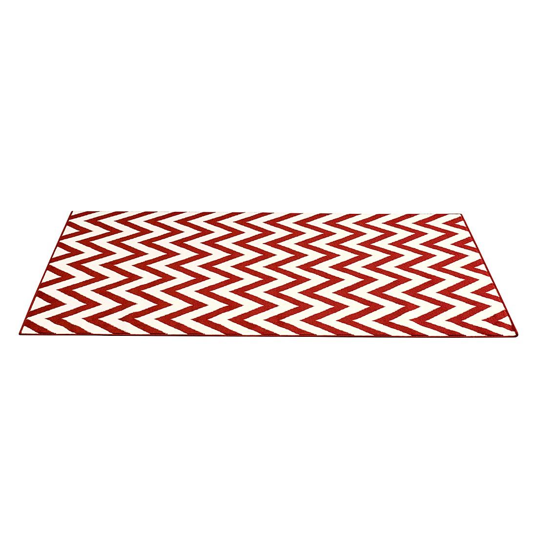 Teppich Zick&Zack – Rot – 200 x 290 cm, Hanse Home Collection günstig online kaufen