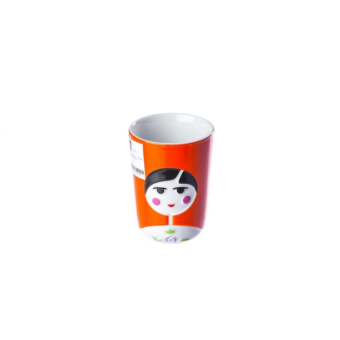 Thermobecher 3D-Tasse Babuschka – Porzellan – Orange, Qdo jetzt bestellen