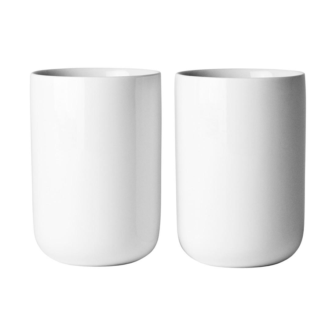 Thermobecher New Norm weiß 2er-Set – Porzellan Weiß – 0,275 Liter 12 cm, Menu günstig online kaufen