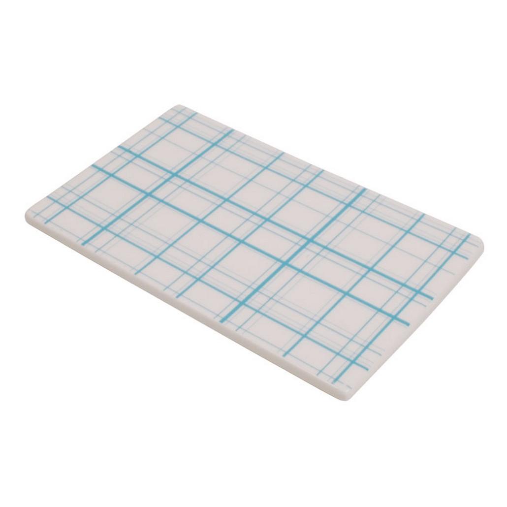 Tile – Design Check – New Bone China Porzellan – Platte mit Blauen Karo, Aspegren Denmark online kaufen