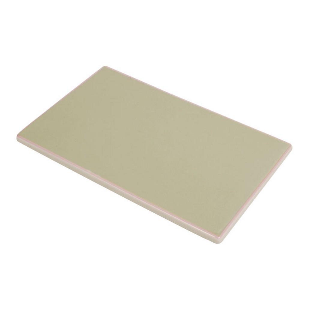 Tile – Design Solid Green – New Bone China Porzellan – Einzelfarbig Platte in Grün, Aspegren Denmark günstig bestellen