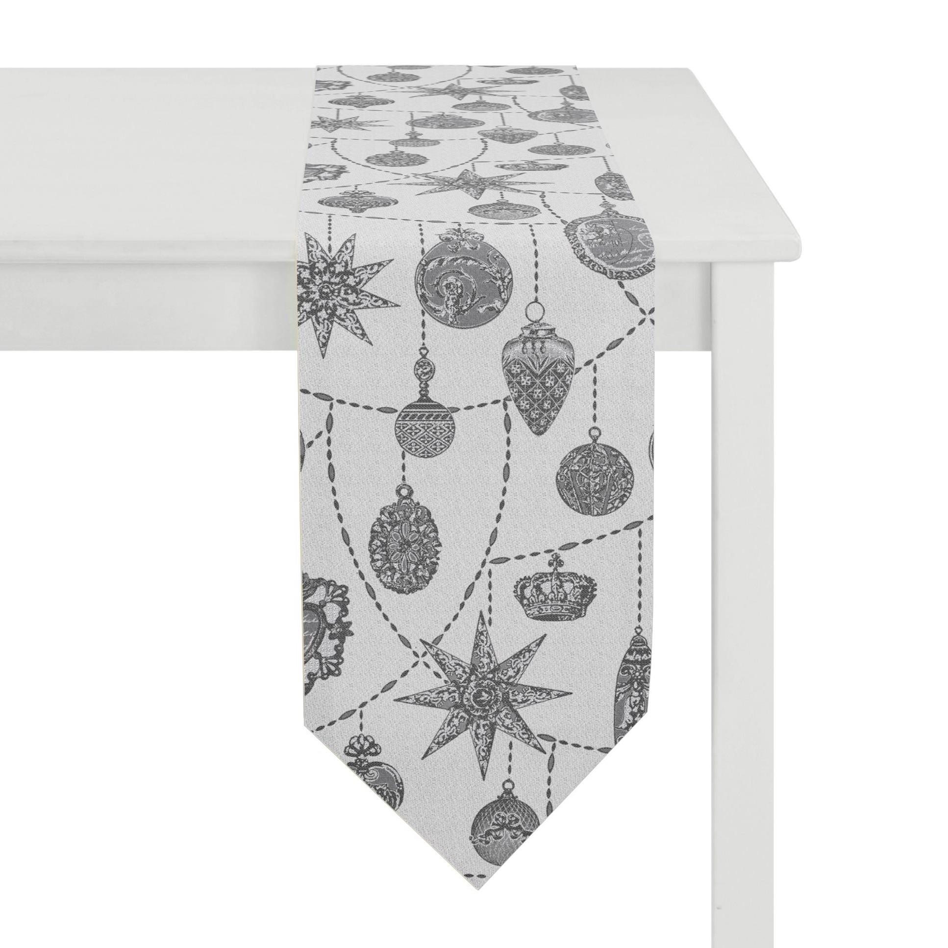Tischband Christmas Elegance II – Weiß, Apelt günstig bestellen