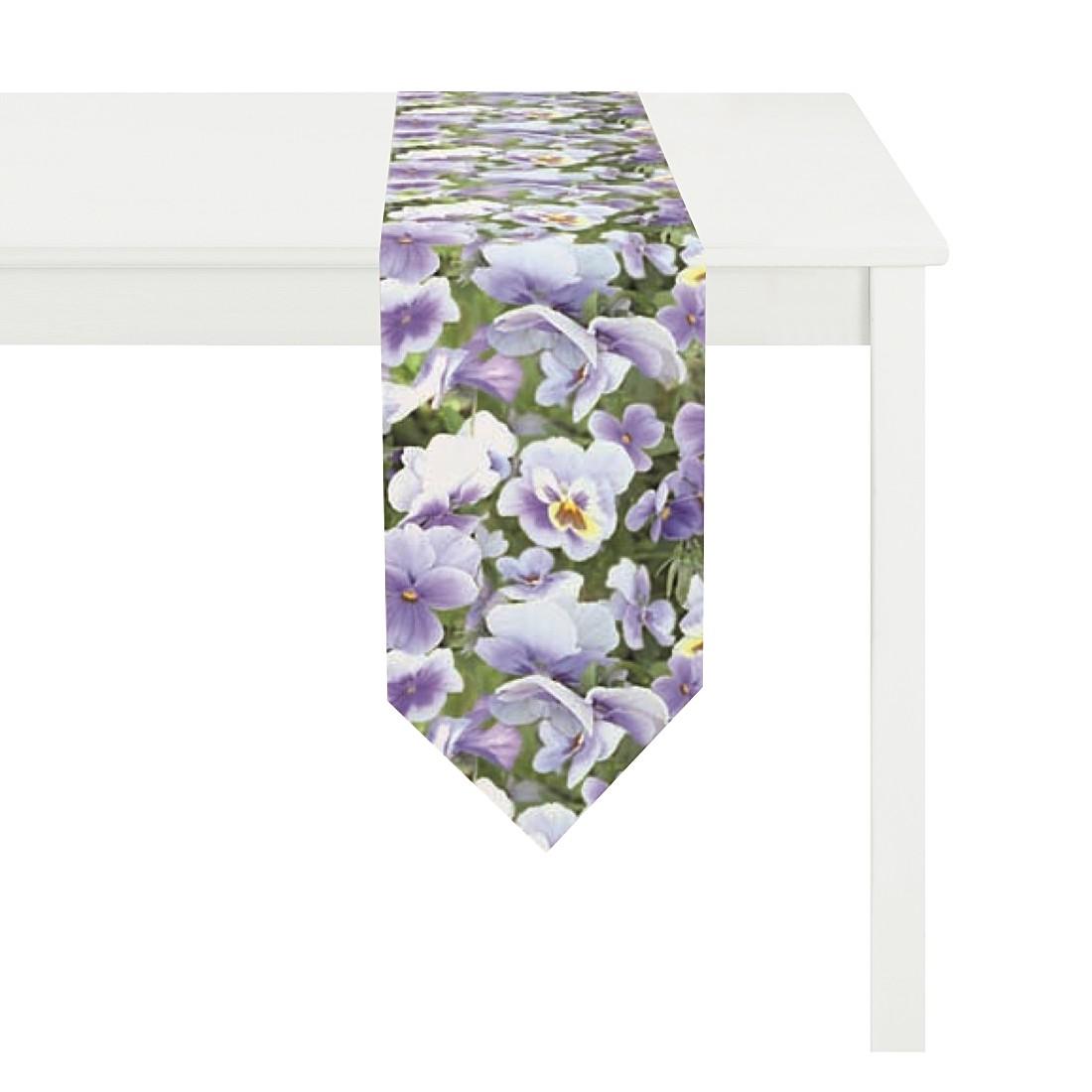 Tischband Pansy II – Lila, Apelt günstig online kaufen