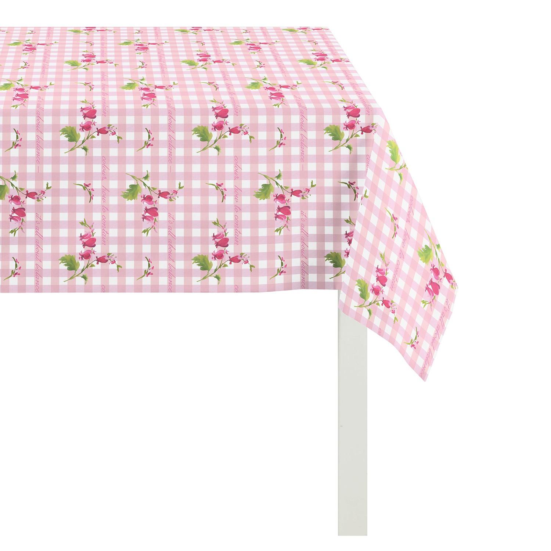 Tischdecke Happy Easter III - Pink - 130 x 130 cm, Apelt